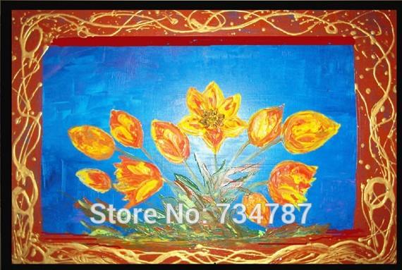 Online kopen wholesale orange tulips flower uit china orange tulips flower groothandel - Eigentijdse woonkamer decoratie ...