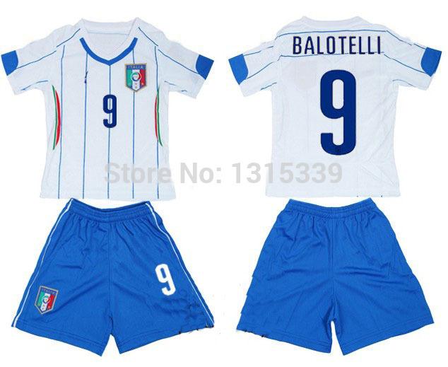 Italy-kids-soccer-jersey-and-shorts-uniform-italia-child-s-football