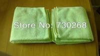 hot sale 5PCS 32X32cm 320gsm Microfiber Cleaning Cloth & Microfibre Drying Magic Towel Glass Window Cloths Dust Rags Free Ship