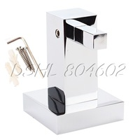 Elegant Solid Brass With Chrome Finish Simple Style Clothes Hook