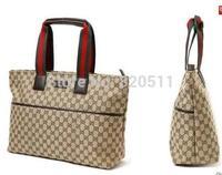 GO FASHION Plaid Canvas Bag Handbag Shoulder Bag Casual Bag Wholesale