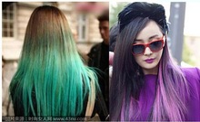 17 kinds to choose from 25 * 65 multi-colored artificial feather hair piece straight hair(China (Mainland))