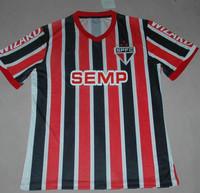 Sao Paulo Soccer Jersey SAINT PAUL Ademilson#10 top Thailand quality 2014 Brazil Futbol Club Sports Football Shirt