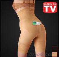 Wholesale 3XL Ms ZEROBODYS tall waist shape 50pcs/lot Lift Hip pants belly thin leg as seen on TV women five cents pants