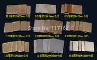 Pure Copper Heatsink Shim Pad Kit For Laptop CPU GPU Repair Kit 9 kinds 45 pcs