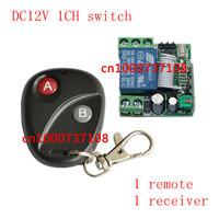 Smart Home DC12V 1CH RF switch remote 315M/433.92mhz receiver digital wireless remote control Power switch relay
