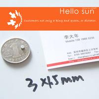 100PCS,Super Powerful Strong Neodymium Disc Magnets DIA 3x1.5mm  N35 Neodymium Magnet Rare Earth