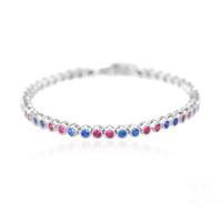 Trendy charm bracelet colorful  dance bracelet