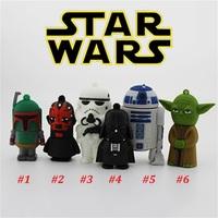 Star Wars Darth Maul Yoda Darth Vader R2 D2 usb memory stick u disk 1gb 2gb 4gb 8gb 16gb 32gb usb flash drive