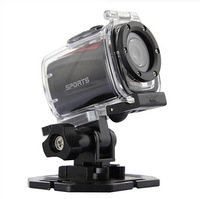 Mini Helmet camera F22 Waterproof Sport Action Camera DVR Camcorder Unverwater 3M 720P Wide angle Lens For Bike and sports