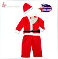 Christmas costume fabric men's Christmas for children aged 3-12 years specifications clothing optional Free Shipping