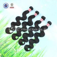 On Sale XBL Hair Peruvian Virgin Hair Body Wave 5A Unprocessed Virgin Peruvian Hair 4 Bundles Deal Human Hair Weave
