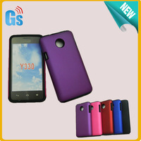 2 In 1 Soft Silicon + Hard Case Combo Hybrid Case Cover For Huawei Ascend Y330 Free Ship