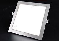 Ultra thin design 3W /4W/ 6W / 9W / 12W / 15W /18W LED ceiling recessed grid downlight / slim square panel light free shipping