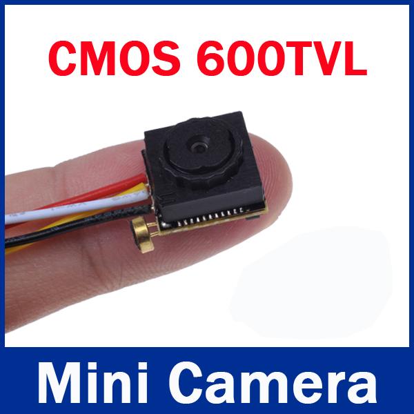 New Mini CCTV Camera Micro Security Camera 600tvl 0.008Lux 3.7mm Lens,Fpv CMOS Mini CCTV Camera with Audio Mic(China (Main