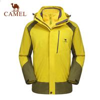 Camel for outdoor Men 2014 hooded outdoor jacket windproof thermal a4w279077 outdoor men jacket