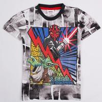 kids fashion boys clothes summer 2014 printed cartoon SUPER MAN boysshort sleeve T-shirts C2305