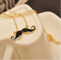 summer dress 2014 Lovely Fashion! Sexy beard necklaces pendants 2014 luxury jewelry wholesale