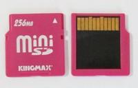 Kingmax 256MB miniSD MINI SD 256 MB mini sd Memory Card with Adapter