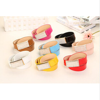 Do promotion ! cheap crystal belt in bulk, fashion blets for woman, free shipping belts