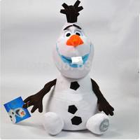 30CM The Plush Frozen doll, Soft Stuffed Cotton Frozen Olaf plush Animal toy, Frozen Snowman Olaf plush kid baby toy Dolls