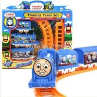 Thomas Train Toys Electric Rail Train Thomas Mini Electric Train Set Track Toy for Kids with Retail Box