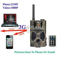 3G hunting camera New HD MMS Digital Infrared Trail Camera 2.0' LCD 8.0Megapixels IR Hunter wildlife videos trap cam HC300G