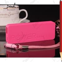 Perfume 5600mAh USB External Backup Battery Lithium Polymer Charger Power Bank Slim Mobile Power 50Pcs/Lot UPS Free Shipping