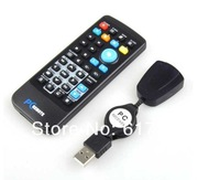 100pcs/lot  USB Remote Control for PC Laptop Computer XP Vista Win7 AC02 with the retail package