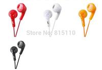 10pcs/lot china post free shipping Earphone Colorful in-ear Headset Headphones HA-F160 For Samsung iPhone iPad iPod Gummy