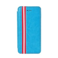 Luxury Retro Stand Crazy Horse Cover For Apple iphone 4/4s Flip Leather Case With Fashion Stripe European Style Case for Iphone