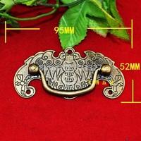 95 * 52MM antique drawer  furniture  drawer handle gift zinc alloy big bat handle