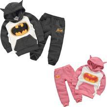 Della ragazza dei bambini super hero set di abbigliamento per bambini