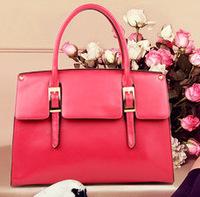 Classic Retro Fashion PU Leather Handbags Shoulder Bags 4 Colours