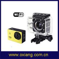 Free shipping!!! 30M  Waterproof / similar to Gopro sports dv / sports hd dv/action caerma built-in Wifi