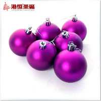 Christmas decoration accessories 6-10cm Christmas ball specifications optional Free Shipping