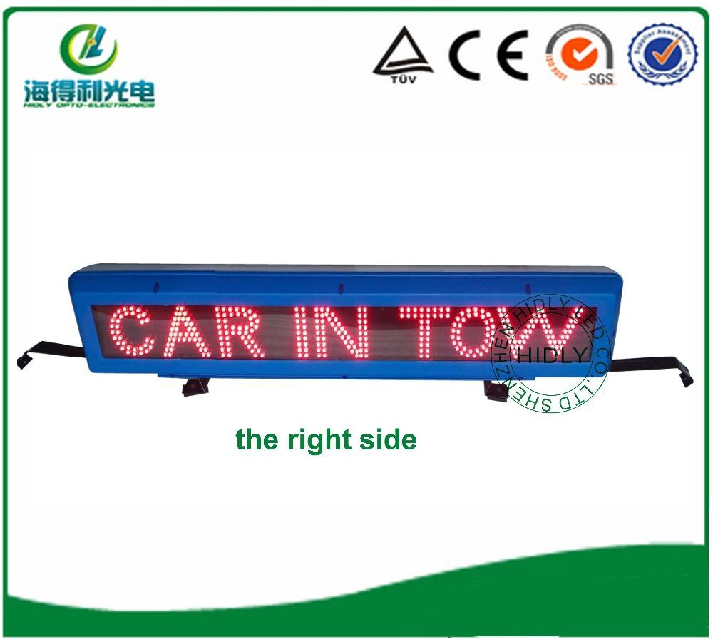 Programmable LED car display ,LED taxi display(China (Mainland))
