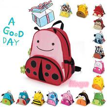 PROMATION! Hot children zoo backpack cute kids cartoon animal school bag kindergarten satchels mochila pack bolsas G0147(China (Mainland))