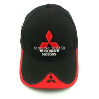 Free Shipping 2014 Mitsubishi motors F1 Racing cap embroidery Car Motorcycle outdoor sports snapback bone Baseball hat cap