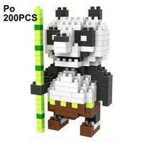 LOZ Diamond Blocks Nano Micro Building Blocks Christmas Gift Toy Kung Fu Panda
