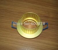 Aluminum Light  Fixture, LED  MR16/GU10  Recessed  lamps Pure Aluminum Light