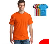 print logo DLY 140g polyester  t-shirt advertising shirt blank wholesale  customization