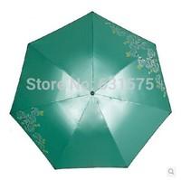 2014 Paradise Umbrella genuine monopoly rose color triple reinforced plastic rain or shine UV shade FREE SHIPPING