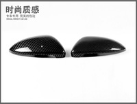 Carbon Fiber Car Door Wing Mirror Covers Styling 2pcs For VW Volkswagen Golf 7 ( GTI 7 Mk7 13-14 )