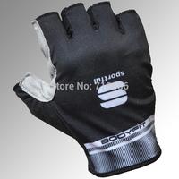 2014 New style Speci alized BG sport bicycle glove racing bike riding black white semi half-finger cycling glove