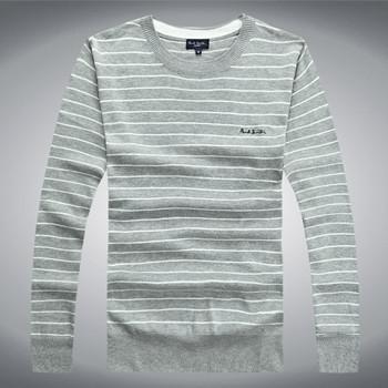 [해외]2014 아주 새로운 남자의 긴 Retail 스웨터, O-목, 남성의 스..