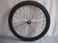23mm width hand built full carbon fiber 60mm tubular bicycle wheels /cheap carbon road bike wheels, Free Shipping!!!