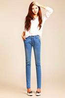 2014 New sexy stretch slim skinny jeans women denim cotton harem pants ladies pencil pants free shipping!