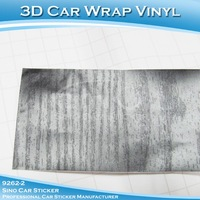 SINO CAR STICKER 1.52x30M 5x98FT Air Bubble Free Natural Car Body Wrapping 3D Auto Foil