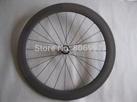 Wholesale full carbon bicycle wheels 60mm /ultralight road bike carbon fiber tubular wheels with 20/24 holes(25mm width+U shape)